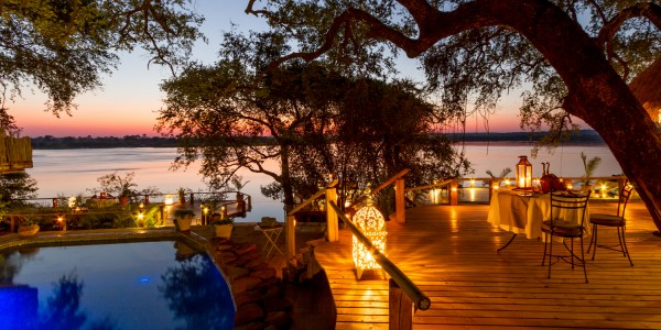Zambia - Livingstone - Tongabezi Lodge - Pool