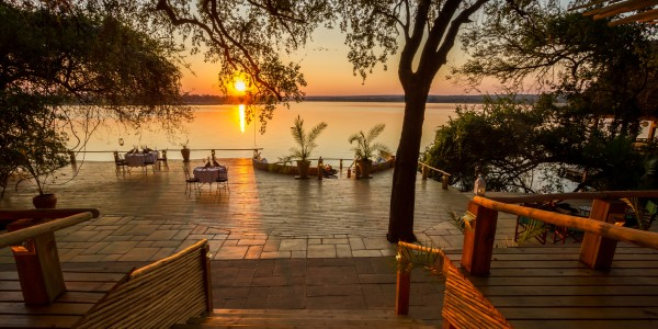 Zambia - Livingstone - Tongabezi Lodge - View