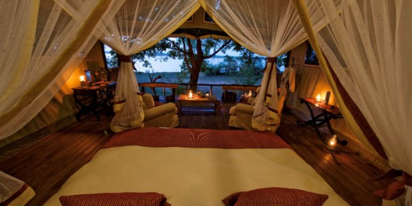 Zambia - Lower Zambezi National Park - Chiawa Camp - Chalet