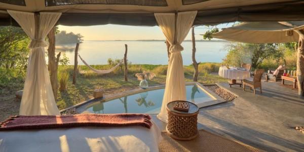 Zambia - Lower Zambezi National Park - Chongwe River Camp - Pool