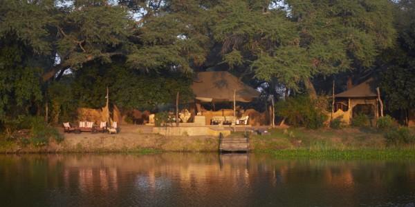 Zambia - Lower Zambezi National Park - Chongwe River Camp - View