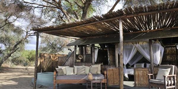 Zambia - Lower Zambezi National Park - Old Mondoro Camp - Room 2