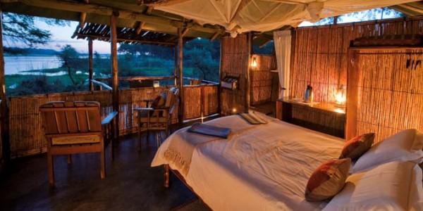 Zambia - Lower Zambezi National Park - Old Mondoro Camp - Room