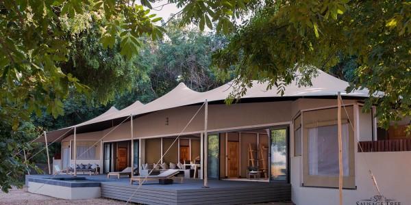 Zambia - Lower Zambezi National Park - Sausage Tree Camp - Kigela House