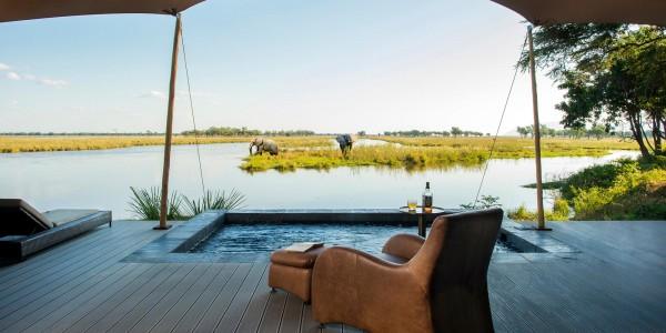 Zambia - Lower Zambezi National Park - Sausage Tree Camp - View
