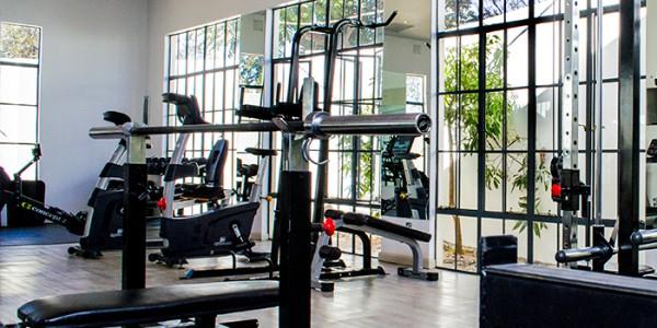 Zambia - Lusaka - Latitude 15 degrees - Gym