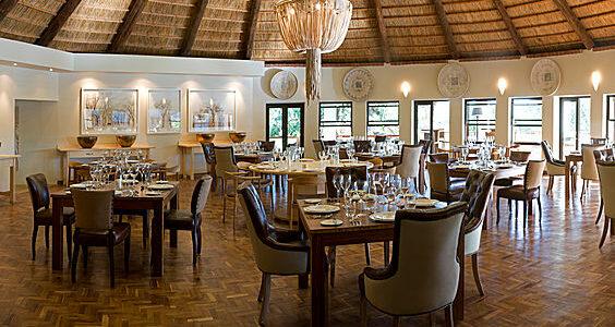 Zambia - Lusaka - Lilayi Lodge - Dining Area