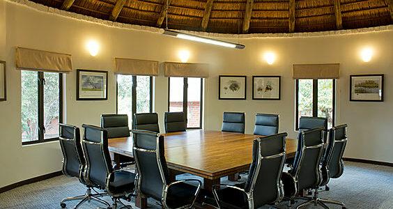 Zambia - Lusaka - Lilayi Lodge - Meeting Room