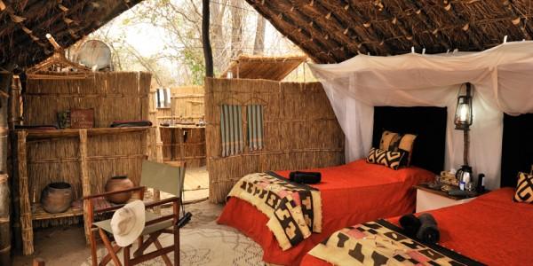Zambia - North Luangwa National Park - Mwaleshi Camp - Room