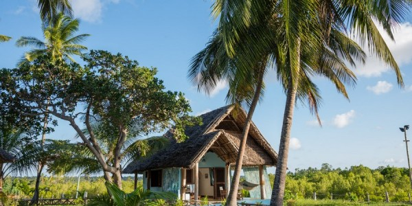 Zanzibar - Mafia Island - Butiama Beach Hotel - Outside