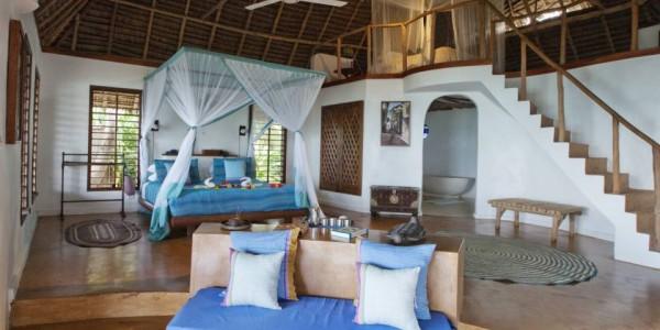 Zanzibar - Zanzibar Beaches - Matemwe Lodge - Bedroom