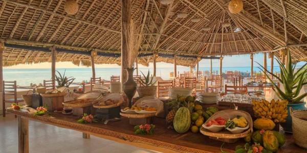 Zanzibar - Zanzibar Beaches - Matemwe Lodge - Dining