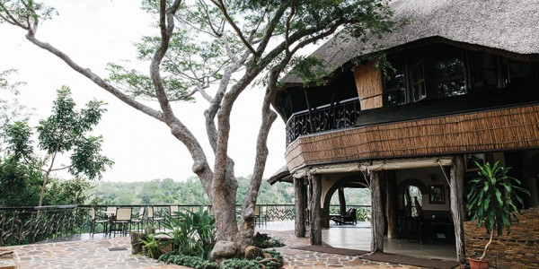 Zimbabwe - Gonarezhou National Park - Chilo Gorge Safari Lodge - Outside