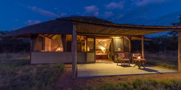 Zimbabwe - Hwange National Park - Camp Hwange - Room Exterior