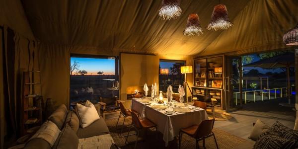 Zimbabwe - Hwange National Park - Linkwasha Camp - Dining