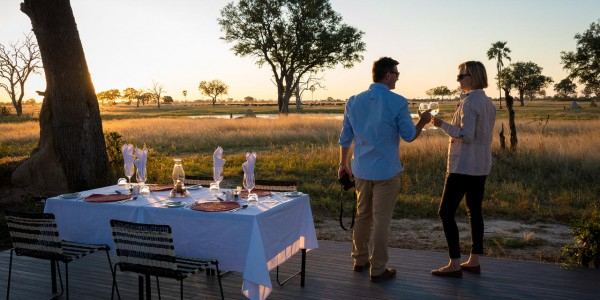 Zimbabwe - Hwange National Park - Linkwasha Camp - Sunset