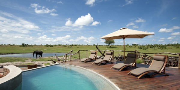 Zimbabwe - Hwange National Park - Somalisa Camp - Pool