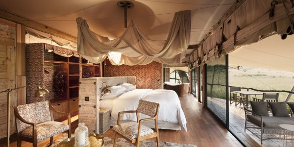 Zimbabwe - Hwange National Park - Somalisa Camp - Room