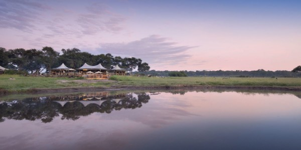 Zimbabwe - Hwange National Park - Somalisa Camp - View