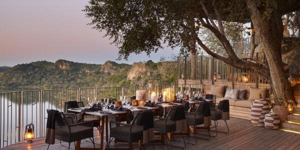 Zimbabwe - Malilangwe Private Wildlife Reserve - Singita Pamushana Lodge - Dinner