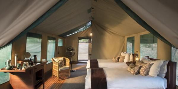 Zimbabwe - Mana Pools National Park - Kanga Camp - Standard Tent