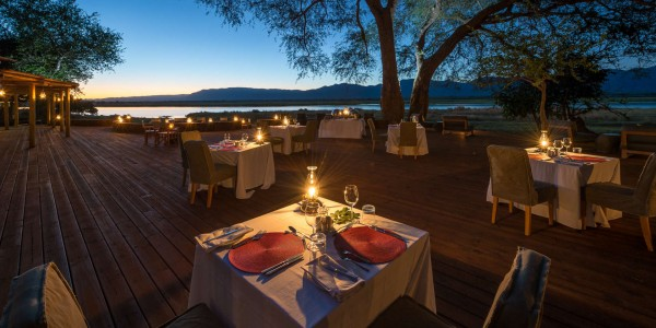 Zimbabwe - Mana Pools National Park - Ruckomechi Camp - Dining
