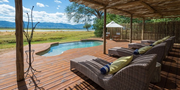 Zimbabwe - Mana Pools National Park - Ruckomechi Camp - Pool