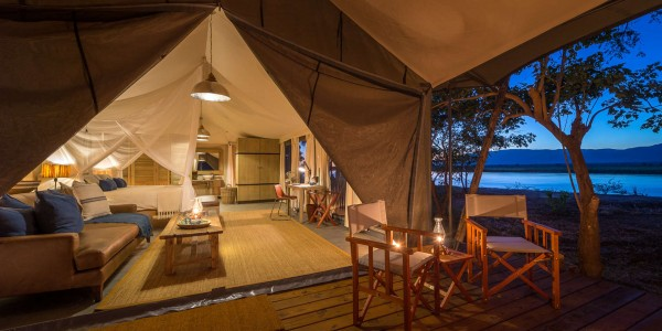 Zimbabwe - Mana Pools National Park - Ruckomechi Camp - Tent