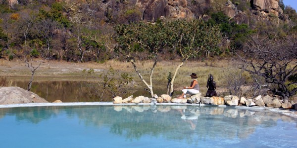 Zimbabwe - Matobo Hills National Park - Amalinda Lodge - Pool