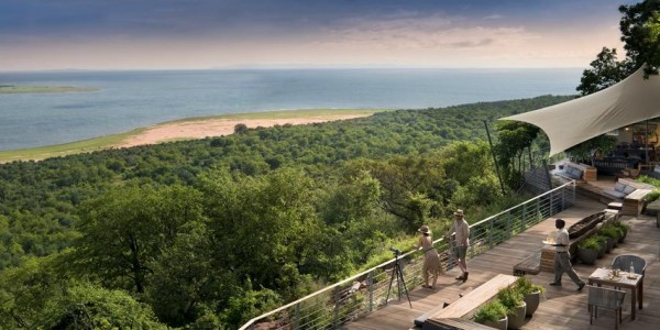 Zimbabwe - Matusadona National Park & Lake Kariba - Bumi Hills Safari Lodge - Viewing Deck