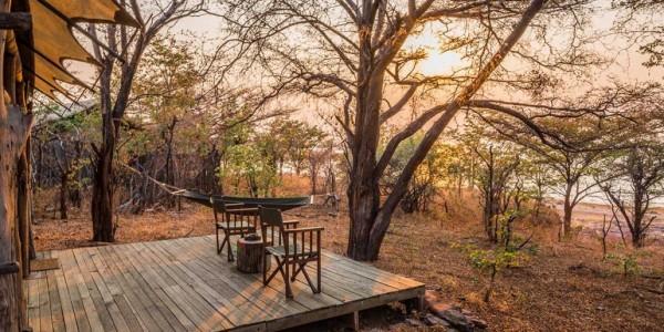 Zimbabwe - Matusadona National Park & Lake Kariba - Changa Safari Camp - Verandah