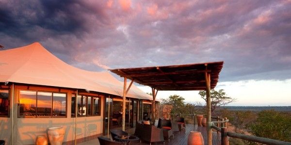 Zimbabwe - Victoria Falls - The Elephant Camp - Deck