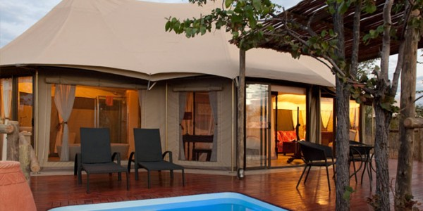 Zimbabwe - Victoria Falls - The Elephant Camp - Pool