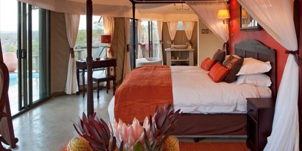Zimbabwe - Victoria Falls - The Elephant Camp - Room