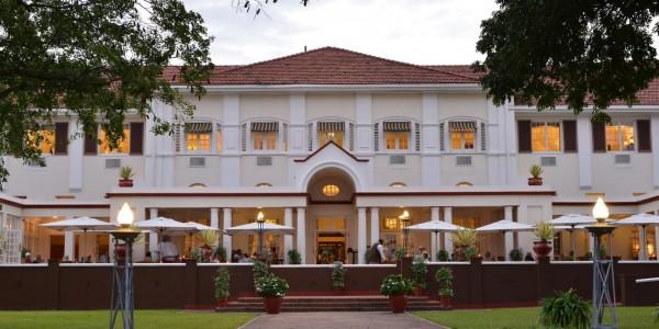 Zimbabwe - Victoria Falls - Victoria Falls Hotel - Front