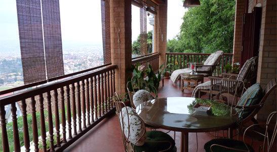 Madagascar - Antananarivo - Lokanga Boutique Hotel - Balcony