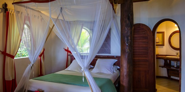 Madagascar - Ile Sainte Marie (Nosy Boraha) - Princesse Bora Lodge & Spa - Charme Villa Interior