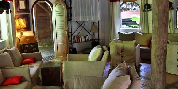 Madagascar - Ile Sainte Marie (Nosy Boraha) - Princesse Bora Lodge & Spa - Lounge