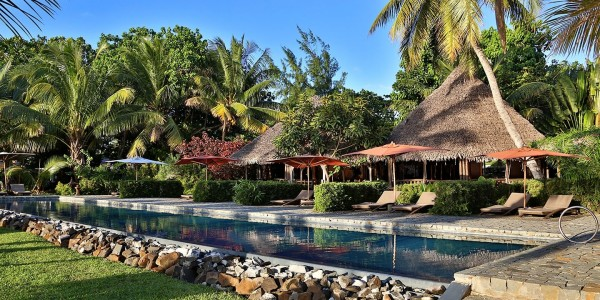 Madagascar - Ile Sainte Marie (Nosy Boraha) - Princesse Bora Lodge & Spa - Pool