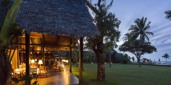 Madagascar - Northern National Park - L'Hotel Anjajavy - Dining