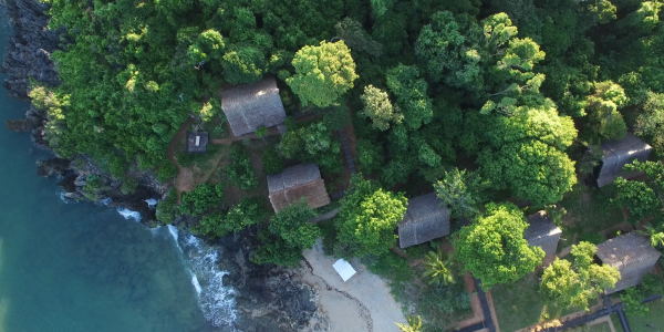Madagascar - Northern National Parks - L'Hotel Anjajavy - Aerial
