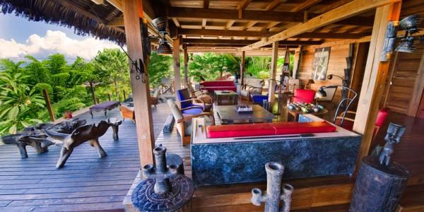 Madagascar - Nosy Be - Tsara Komba Lodge - Lounge