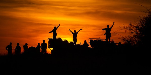 South Africa - Kruger National Park & Private Game Reserves - Londolozi Varty Camp - Sunset