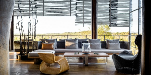 South Africa - Kruger National Park & Private Game Reserves - Singita Lebombo Lodge - Lounge