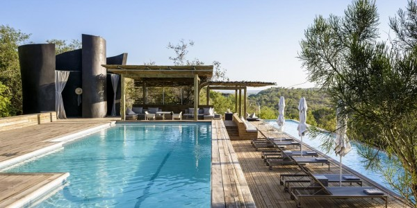 South Africa - Kruger National Park & Private Game Reserves - Singita Lebombo Lodge - Pool