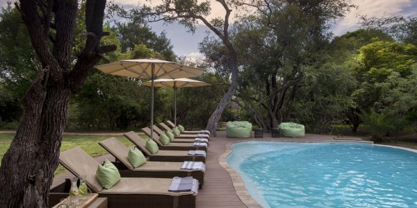 South Africa - Kruger National Park & Private Game Reserves - Tanda Tula Safari Camp - Pool