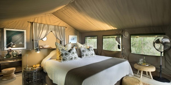 South Africa - Kruger National Park & Private Game Reserves - Tanda Tula Safari Camp - Tent