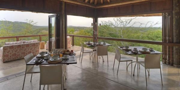 South Africa - Kwazulu Natal - Phinda Mountain Lodge - Guest Area