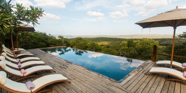 South Africa - Kwazulu Natal - Rhino Ridge Safari Lodge - Pool