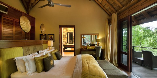 South Africa - Madikwe Game Reserve - Morukuru Family - Owner's House Bedroom